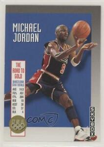 1992 93 Skybox The Road to Gold Michael Jordan #USA11 HOF