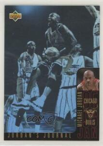 1996 97 Upper Deck Collector's Choice Jordan's Journal Michael Jordan #J3 HOF