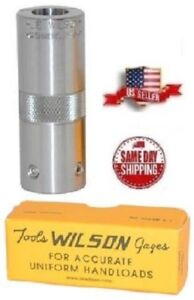 L.E.WILSON Adjustable Case Gage for 7mm Rem Mag # CGA-7RMM   New!