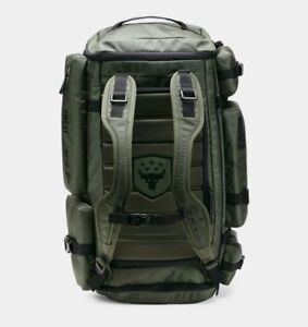 New Under Armour x Project Rock USDNA Range Duffle Backpack Dwayne