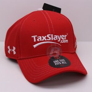 CHASE ELLIOTT # 88 TaxSlayer OSFM Red Under Armour Hat $10.50