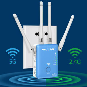 Wavlink Dual Band AC1200 WiFi Repeater2.4G&5G Wireless Range Extender