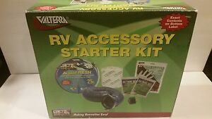 RV Accessory Camping Trailer Pop Up Starter Kit Valterra  New NOS