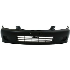 Front Bumper Cover For 1999 2000 Honda Civic Primed 04711S01A01ZZ $70.06