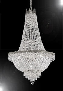 French Empire Crystal Chandelier Lighting - Great for the Dining Room,
