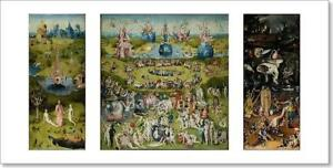 The Garden Of Earthly Delights Art Print Home Decor Wall Art Poster - C