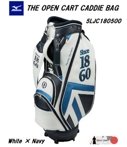 NEW MIZUNO THE OPEN CART CADDIE BAG 5LJC180500 -choose COLOR- BRITISH OPEN MODEL