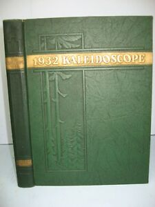 1932 Kaleidoscope, Middlebury College, Middlebury, Vermont Yearbook