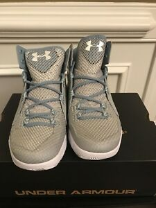 New Under Armour UA Torch Fade Women Basketball Shoes -1269300- ALUSDRWHT 7.5
