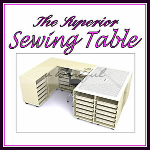 BonEful NEW Sewing LARGE Craft Storage Cutting Table Fabric Home Quilt Machine L $5500.00