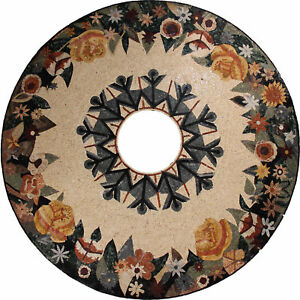Medallion Art Flower ROUND 85