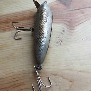 Vintage Miracle Minnow metal fishing lure c.1930s  (lot#9473)