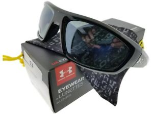 Under-Armour Power  8600026-5108 Black Grey Polarized  New