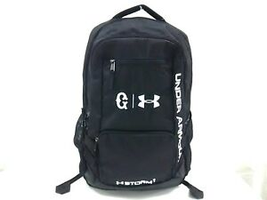 Auth UNDER ARMOUR Black Nylon Backpack