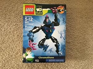 LEGO Ben 10 Alien Force Chromastone (8411) RARE AND RETIRED
