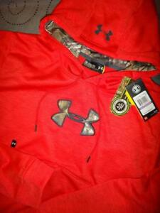 UNDER ARMOUR HUNT REAL TREE XTRA CAMO HOODIE SIZE 2XL MEN NWT $64.99