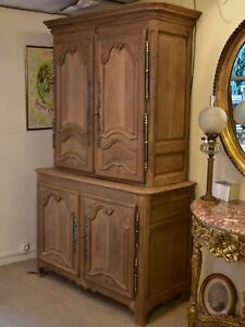 Late 18th century French kitchen buffet deux corps