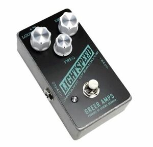 Greer Amps Lightspeed Organic Natural Overdrive - Exclusive BlackTeal Version!