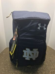UNDER ARMOUR STORM VX2-UNDENIABLE XL Backpack Notre Dame Fighting Irish Bag NWT
