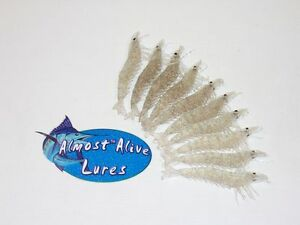 Almost Alive Lures Artificial Soft Plastic (100)4-14
