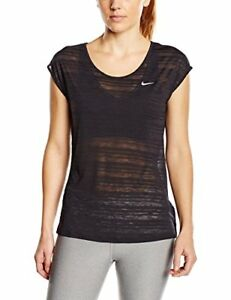 Nike Womens Dri-Fit Shadow Stripe T-Shirt