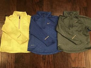 Boys Nike Dry Fit Long Sleeve Shirt Lot of 3 Size 4T