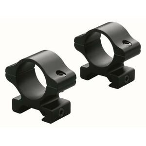 LEUPOLD RIFLEMAN SCOPE RINGS LOW MATTE BLACK $21.69