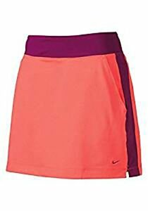 Nike Women's No Sew Dri-Fit Golf Skort Skirt wBuilt-in Compression Shorts