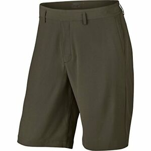Nike 2017 Flat Front Stretch Woven Men's Golf Shorts - Cargo Khaki (28)