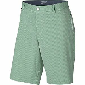 Nike Golf Modern Fit Seersucker Shorts (Lucid Green) 34