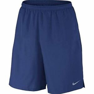 Nike Mens Challenger Shorts Royal BlueObsidian Size Small