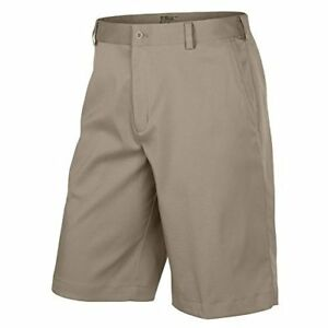 Nike Mens Flat Front Tech Golf Shorts (30 Khaki)
