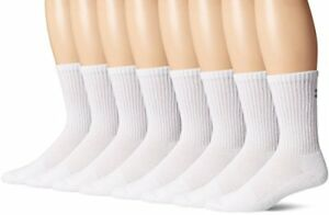Under Armour Men's Charged Cotton 2.0 Crew Socks (8 Pack)