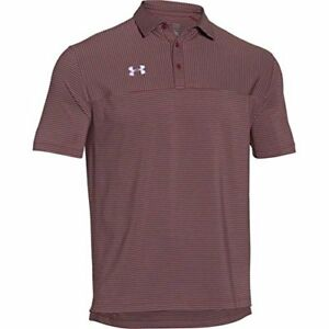 Under Armour Men's Clubhouse Striped Polo Golf Shirt Assorted Colors 1270402