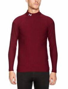 Men's ColdGear® Longsleeve Compression Mock Tops by Under Armour