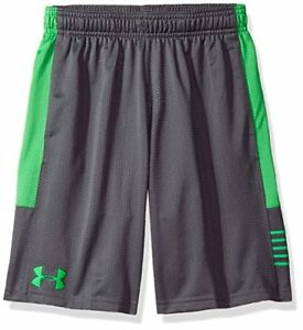 Under Armour Boys' Train To Game Shorts GraphiteLime Twist