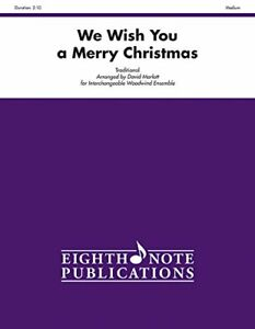 NEW We Wish You a Merry Christmas: Score & Parts (Eighth Note Publications)