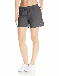 ASICS Women's Performance Run 5-Inch Pocketed Shorts Steel X-Small