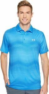 Under Armour Golf  Men's UA Playoff Polo Mako BlueMako BlueOvercast Gray Larg