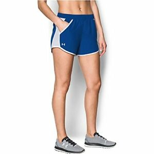 Under Armour Women's Fly-By Shorts RoyalWhite X-Small