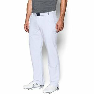 Under Armour Men's Match Play Golf Pants – Straight Leg WhiteWhite 3030