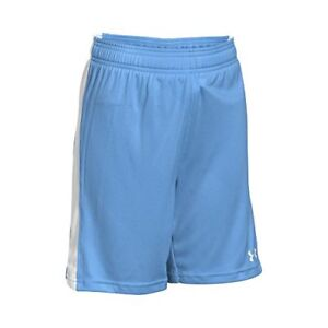 Under Armour Boys' Re-Fixture Soccer Shorts Carolina BlueWhite Youth Small