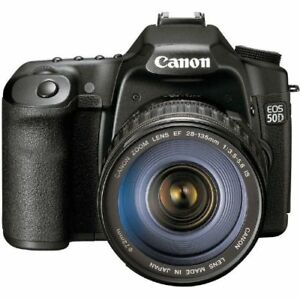 Canon EOS 50D DSLR Camera 28-135mm Lens Kit Black 2807B005