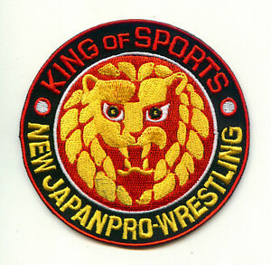 🤼NJPW NEW JAPAN PRO WRESTLING Iron-on PATCH-Kenny Omega/Bullet Club/Young Bucks