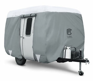Classic Accessories PolyPro 3 Molded Fiberglass Camping Trailer Cover 8-10' Long