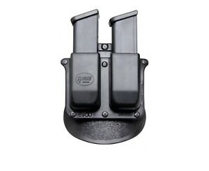 Fobus Double Magazine Pouch Paddle Holster H&K .45 Black 6945HP