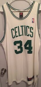 Paul Pierce Boston Celtics Authentic NBA Jersey 48 XL Nike Dri Fit Sewn 34 Truth