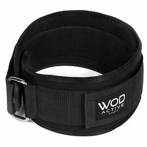 Weightlifting Belt from WodactiveSports Low Profile Easy to use Back Suppo(M)(L)