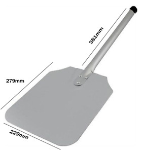 Overall Aluminium Pizza Peeler, Paddle Tray with Pizza Lifter Handle
