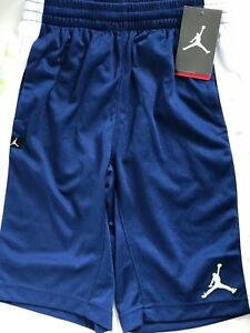 Nike Air Jordan Jumpman Youth Boys Dry-Fit Stay Cool Basketball Shorts Medium